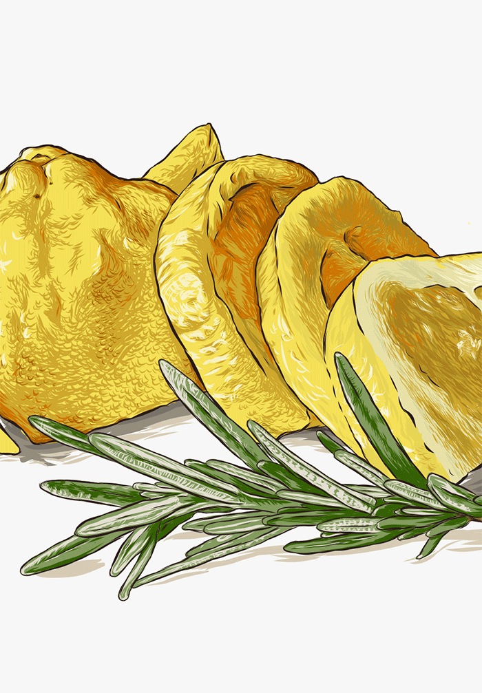 Lemon, Hazelnuts and Rosemary - teaser image
